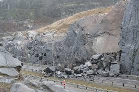 Major rock fall closes Norwegian motorway | Ground Engineering